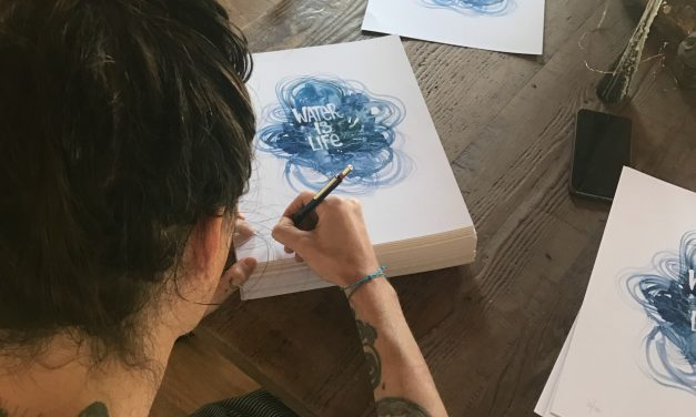Brandon Boyd: The Inspiration Behind My New Art Project — 'Water Is Life'