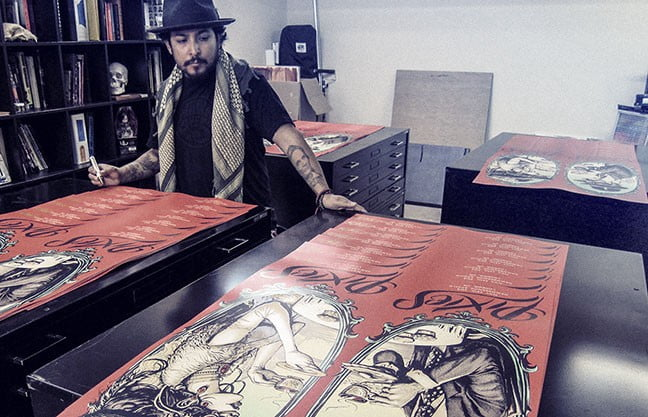 Munk One: The Art of Making Concert Posters