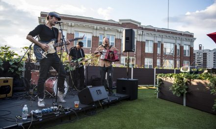 Will Dailey Performing on the Fenway Park Roofdeck— in 10 Stunning Photos