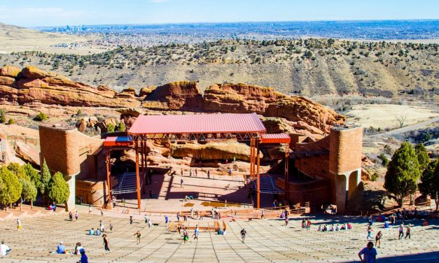 A Look inside Red Rocks Amphitheater