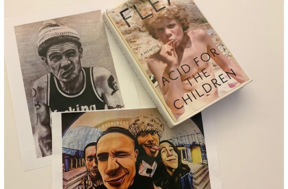 5 Life Lessons From Flea's Book 'Acid For The Children'