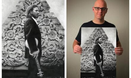 Keegan Hall: Behind the Art – a collaboration with Eddie Vedder