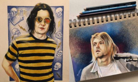 Natalia Rodriguez: Inside My Art – Color Pencil Rock n' Roll